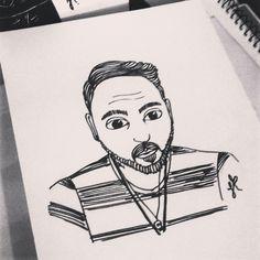 Inspirado nos desenhos de @danilotm