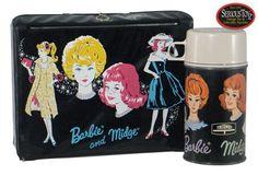 My Barbie lunch box.