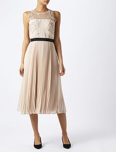 Sharma Lace Midi Dress