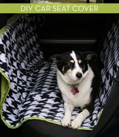 How To: Make a DIY Hammock-Style Dog Car Seat Cover » Curbly | DIY Design Community