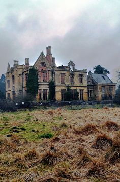 Lincolnshire, England - Unlike most other hospitals, Nocton Hall began life as a stately manor home until World War I, when it was taken over and used by American forces as a place for injured soldiers to rest and recuperate. It was used again during World War II as a military hospital.