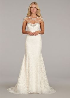 Bridal Gowns, Wedding Dresses by Hayley Paige - Style HP6410
