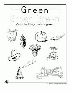learning colors worksheets for preschoolers classroom jr