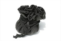 draw string jewellery pouch - black Leather Accessories, Leather Bag, Pouch, Leather Bag Men, Belly Pouch, Leather Products, Leather Bags