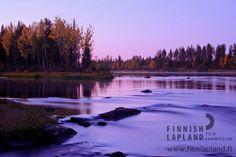 River, Levi. Photo by Levi Tourist Office. #filmlapland #arcticshooting #finlandlapland
