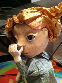 papar puppet
