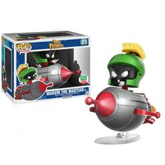 Funko Marvin the Martian with Rocket, Looney Tunes, Funko-Shop Exclusive, Cartoon, Funkomania