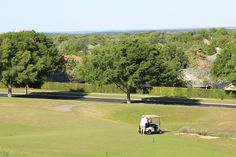 Partial view of Summit Green golf course from the club house.