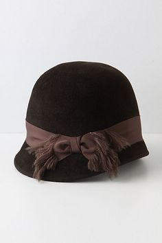nice lines to this cloche for anthropologie  millinery  judithm  hats  Sombreros Y Tocados c958bdb0ee4