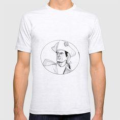American Patriot Doodle Art T-shirt by patrimonio Doodle Art, Retro Fashion, Doodles, American, Tees, Mens Tops, T Shirt, Style, Supreme T Shirt