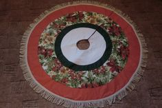 My chtistmas tree skirt