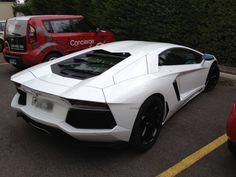 Beautiful White Lamborghini Avendator