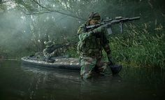 Navy SEALs woodland assault training