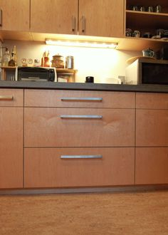 Best Dh Kitchen By Kerf Design Maple Veneer Plywood Cabinets 400 x 300