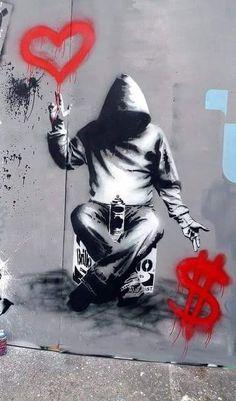 – Graffiti World Urban Street Art, 3d Street Art, Street Artists, Arte Banksy, Banksy Graffiti, Bansky, Street Art Banksy, Murals Street Art, Urbane Kunst