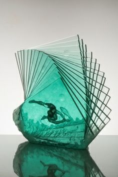 art glass Niyoko Ikuta