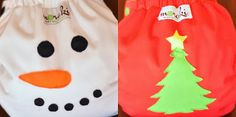 Adorable Christmas diapers from Moraki cloth diapers