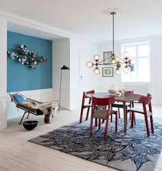 Chandelier - 3 Sided, 10 Globes (Bronze/Smoke) - The Apartment, Copenhagen