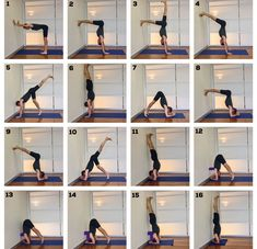 How to Do a Handstand and Headstand