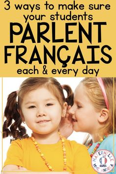 Looking for ways to help encourage your students to speak French every day in your maternelle or première année classroom? Check out these three simple tricks to get them talking! French Teaching Resources, Teaching French, Teaching Spanish, Teaching Reading, Teaching Kids, Teaching Vocabulary, Spanish Activities, Oral Communication Skills, Communication Orale