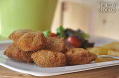 Nuggets de pollo para niños - http://www.thermorecetas.com/nuggets-pollo-ninos/