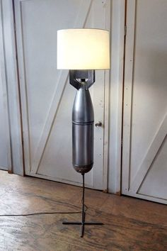 Megaton Floor Lamp #FloorLamp #RecycledLamp @idlights