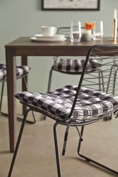 Summer Dining | Style By Freedom Dining Chairs, Dining Room, Indoor Plants, Natural Wood, Decorating Your Home, Your Style, Freedom, Summer, Furniture