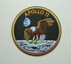 Apollo Space Program, Nasa Space Program, Apollo Rocket, Small American Flags, Space Patch, Apollo 11 Mission, Moon Missions, Nasa History, Space Museum