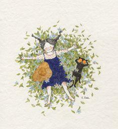Imagen de cat and girl