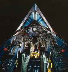 Cockpit of the Lockheed SR-71A
