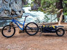 Coho XC: Hauling Gear for Bikepacking and Touring Made Easy - GetdatGadget Cargo Trailers, Bike Trailer, Cargo Bike, Bicycle Parts, Asus Zenfone, Touring, Make It Simple, Gears, World