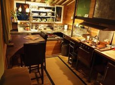 The Firebird Tiny House on Wheels - photos / video : tiny house talk --- amazing... & this kitchen / dining area is to DIE for! #2