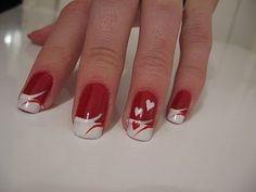 30+ Valentine's Day Nail Art DIY Ideas that You'll Love   www.FabArtDIY.com