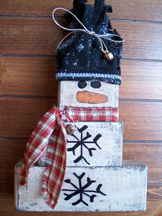 Holidays Christmas Decoration primitive rustic by ScriblzDesign, $23.95