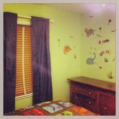Dinosaur Bedroom For A Three Year Old Boy Bedding And