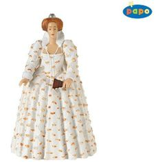 Papo: Queen Elizabeth 1 by Papo. $8.70. 3.12 in L x 2.15 in W x 3.9 in H. The Papo toy line features beatifully crafted figurines of knights, pirates, castles and enchanted creatures. Papo toys come in a wide variety of colors, all hand painted and bursting with imagination. With Papo Knights toys, a world of medieval castles, brave knights, and fierce dragons comes to life. With Papo toys, your children will enjoy hours of imaginative play in wondrous worlds ...
