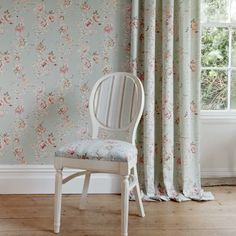 Competitive curtain making, blinds and soft furnishings. Free interiors advice, vast range fabrics and wallpaper. Wallpaper Panels, Modern Wallpaper, Clarke And Clarke Fabric, Vintage Floral Wallpapers, Buy Wallpaper Online, Versace Home, Made To Measure Curtains, Hazelwood Home, Upholstered Chairs