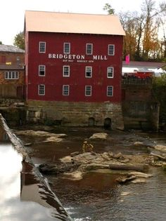 The Bridgeton Mill..Parke Co. Indiana Photo by Cher Q.