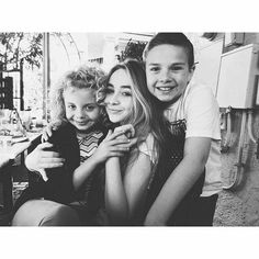 Sabrina and her costars Adventures In Babysitting, Girl Meets World, Sabrina Carpenter, Together We Can, Her Music, Disney Love, Love Her, Celebs, Couple Photos