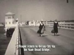Ocean City Life-Saving Station Museum - Storm of 1933 created the inlet to Ocean City.  Home video showing the damage of the Noreaster .