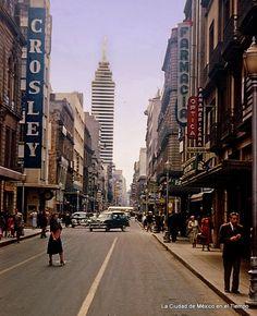 La Calle de Madero. Me habría encantado poder conocer la ciudad entonces.