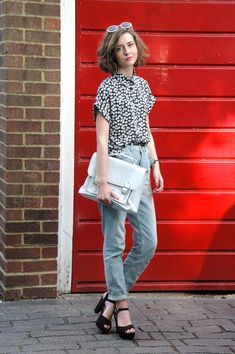 Mom Jeans Are Back! 15 Ways to Style the Trend via Brit + Co