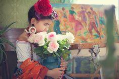 Frida Kahlo inspiration photo shoot - Stamford, CT children photographer
