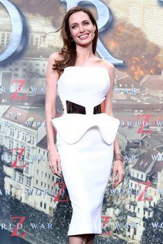Nice Angelina Jolie dresses white 2017-2018 Check more at http://24myfashion.com/2016/angelina-jolie-dresses-white-2017-2018/