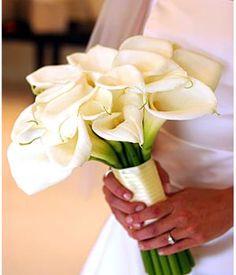 Cala Lily wedding bouquet
