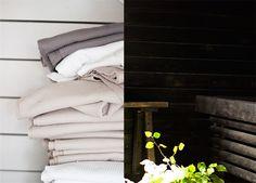 Musta sauna @Asuntomessutblogit / Ruutupaperilla