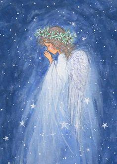 Love Drawings, Art Drawings Sketches, Angel Artwork, Angel Drawing, Angels Among Us, Angel Pictures, Christmas Drawing, European Paintings, Guardian Angels