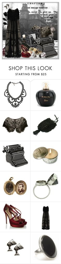 """""""Chapter 1"""" by sookiestackwhore ❤ liked on Polyvore featuring Yves Saint Laurent, Christian Dior, Miss Selfridge, Ryder, Chanel, CO, Elyse Jacob, D&G, Potluck Paris and gothic"""