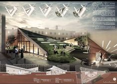 Amazing intro pages of projects Concept Board Architecture, Architecture Presentation Board, Architecture Panel, Architecture Portfolio, Amazing Architecture, Contemporary Architecture, Architecture Design, Presentation Board Design, Planer Layout