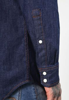 6dc34993e2 STALT DENIM SHIRT L S - Men s shirt - rinsed   Zalando.co.uk 🛒